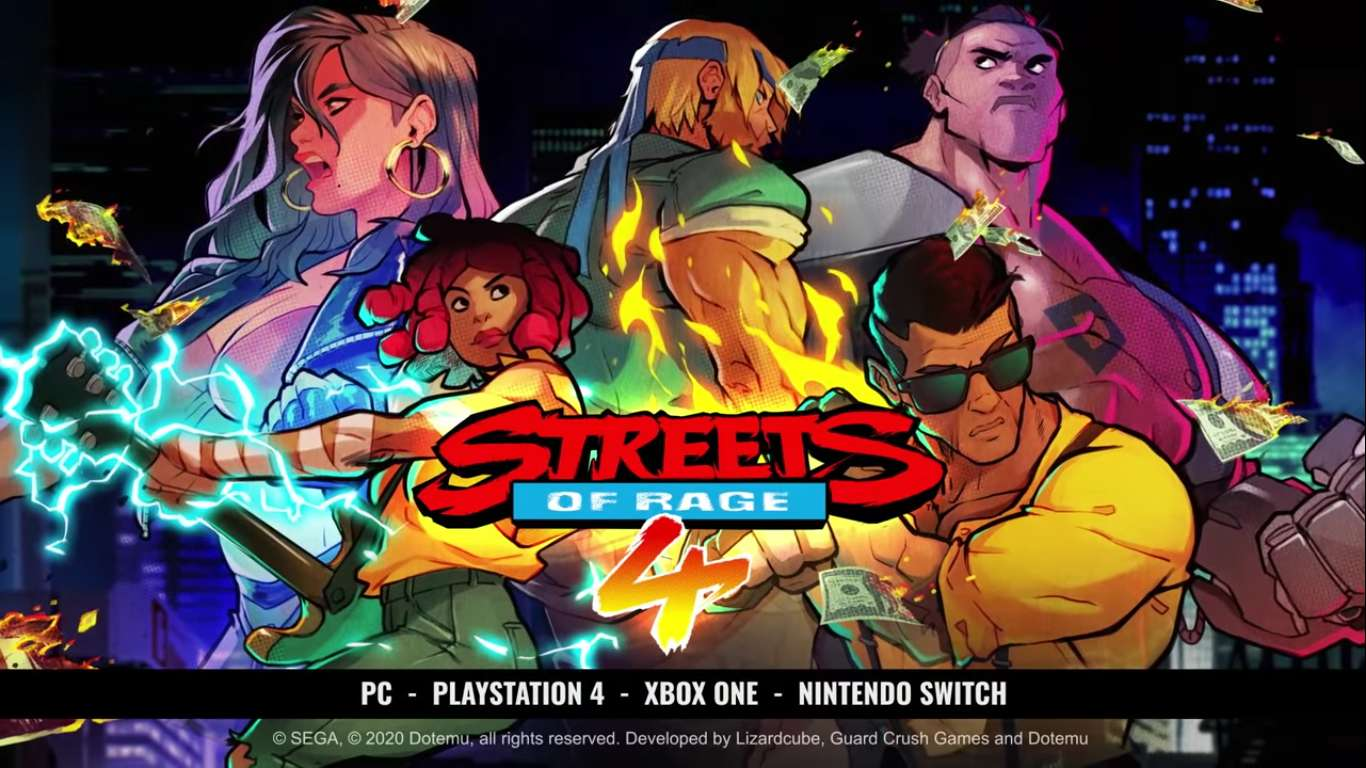 Multiplayer And Couch Coop Have Been Confirmed For Streets Of Rage 4, New Characters Also Revealed For The Upcoming Brawler