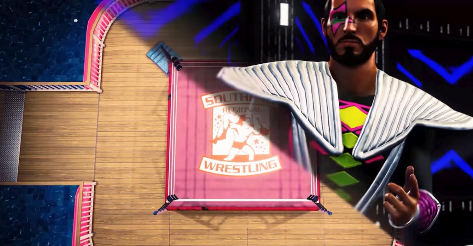 WWE 2K20 Releases Patch 1.07 Plus Southpaw Regional Wrestling DLC
