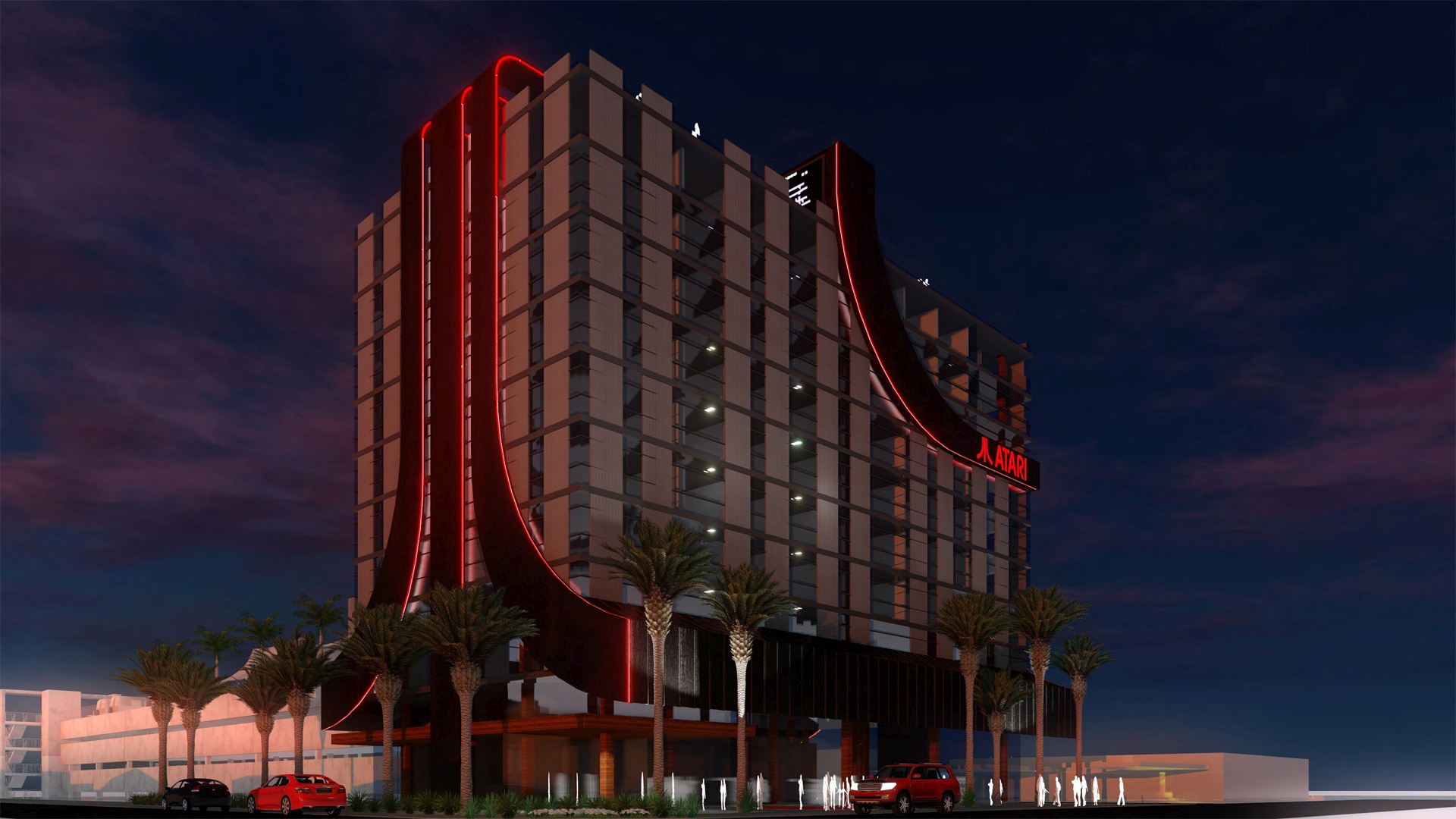 Atari Announces First Ever Video Game-Themed Hotels In North America