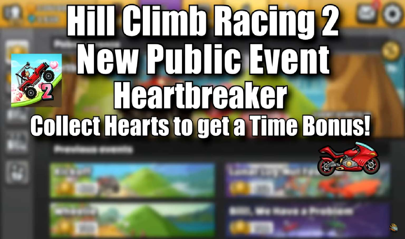 Hill Climb Racing 2 Brings In Valentine's Day Event With Heartbreaker Race
