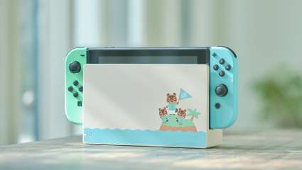 The Special Addition Animal Crossing Nintendo Switch Console Is Now Up For Pre-Orders