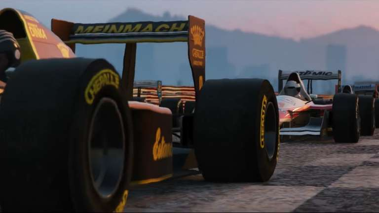 Open Wheel Racing Is The Latest Event In Grand Theft Auto Online That's Available Right Now