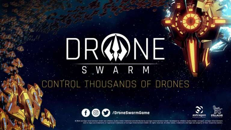 Drone Swarm Is An Upcoming Sci-Fi RTS Style Game By Stillalive Studios, you Are Humanity's Last Hope To Find New Earth
