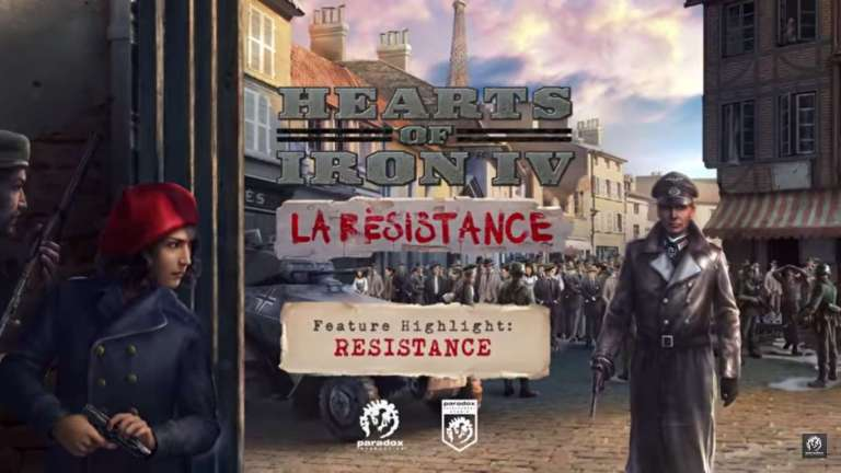 Hearts of Iron IV: La Resistance Is The Next French Based Expansion For Paradox's Popular World War II Strategy Game, New Trailer Has Just Released