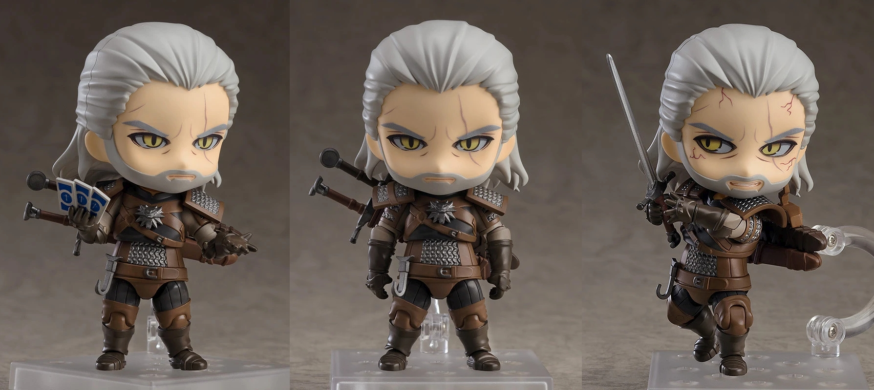 Good Smile Company Announces Re-Release Of The Witcher Geralt Of Rivia Nendoroid