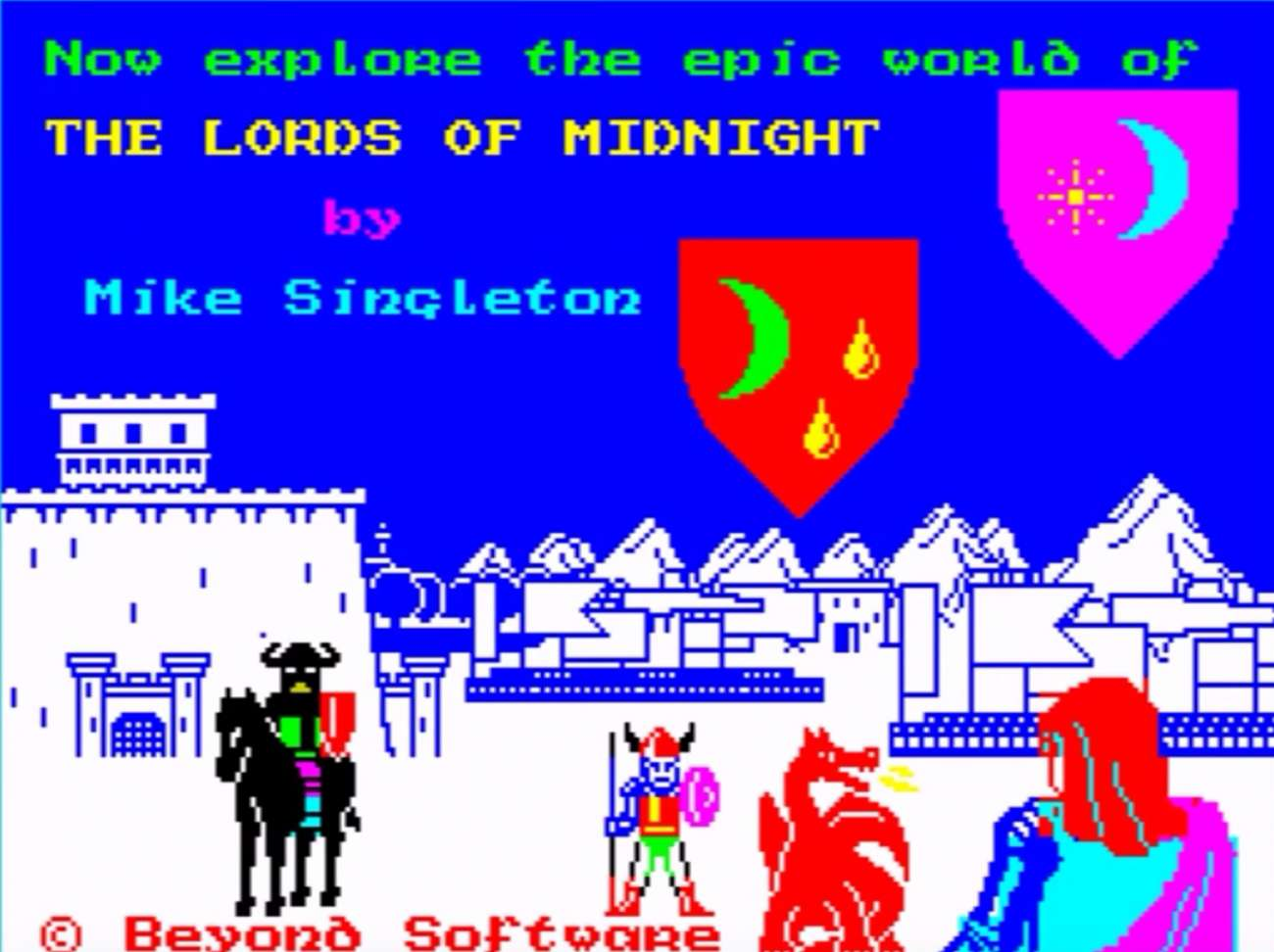 The Lords Of Midnight Is A Retro RPG That's Now Available For Free On GOG