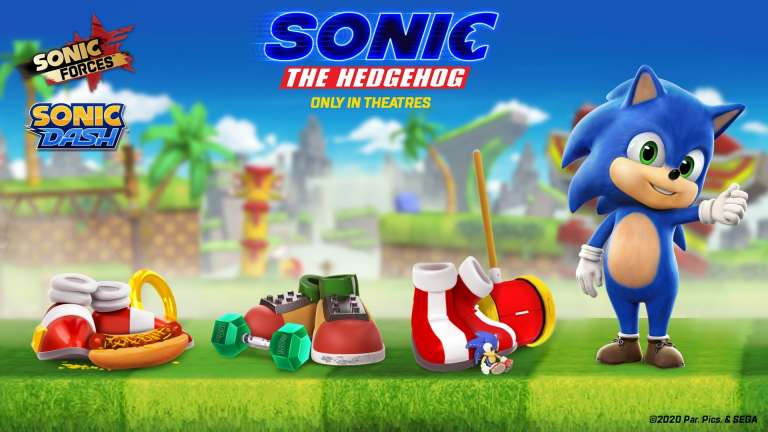 Baby Sonic Joins Sonic Forces Mobile And Sonic Dash Mobile Games As Part of Movie Collaboration