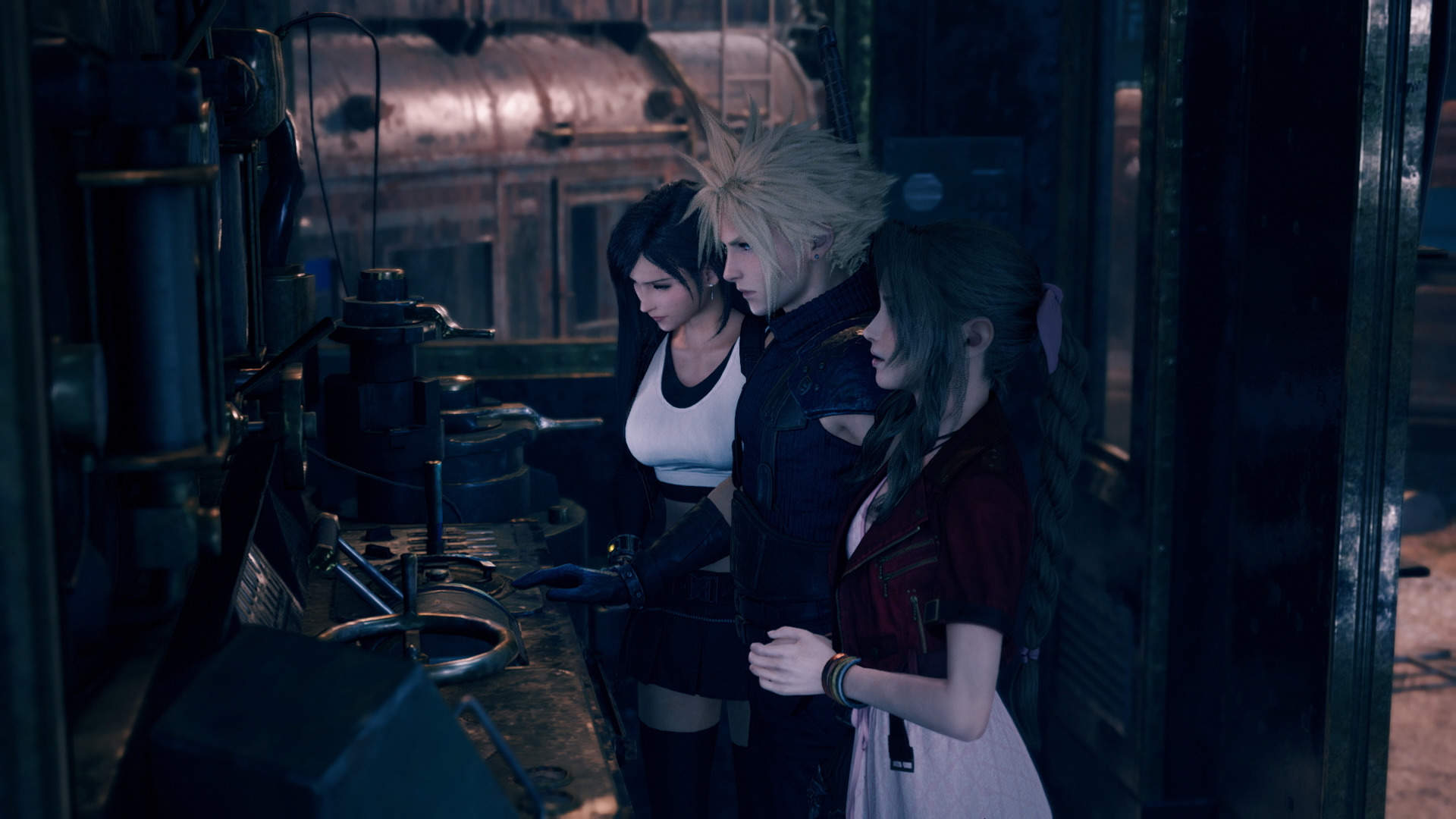 Final Fantasy VII's Iconic Train Graveyard Scene Is Recreated In Breathtaking Detail In Final Fantasy VII Remake