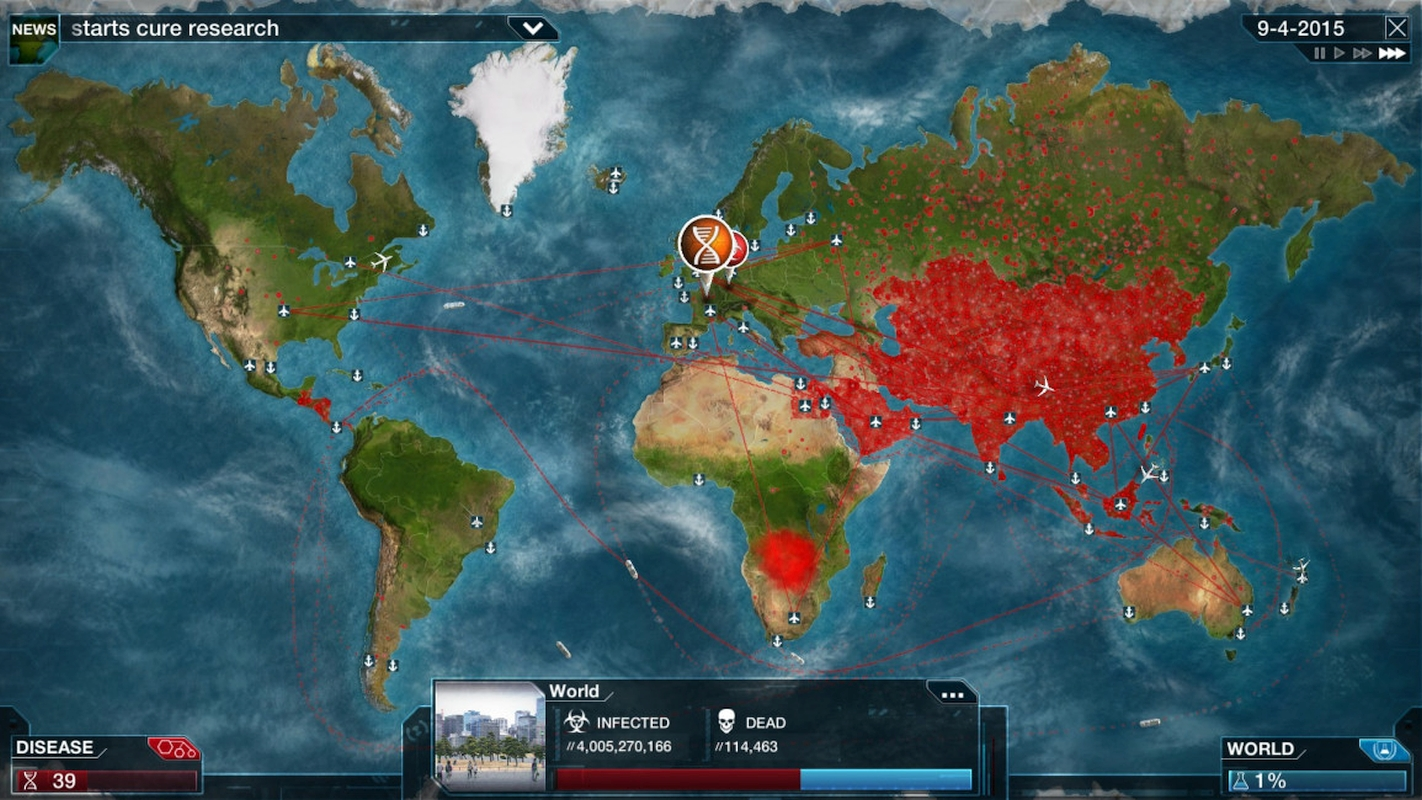 Plague Inc. Developer Ndemic Creations Donates $250,000 To Help Fight COVID-19