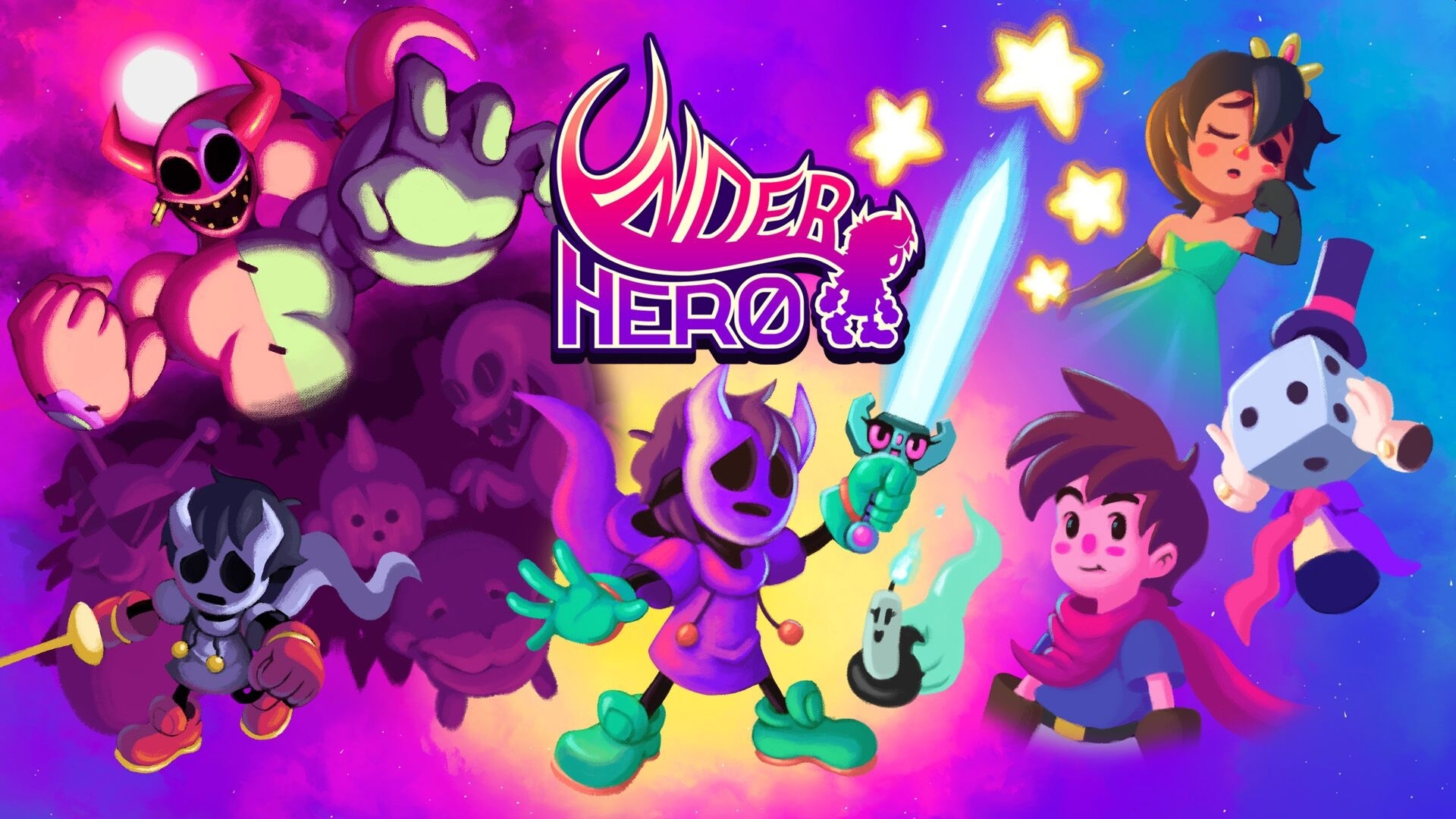 Digerati's Colorful 2D RPG Platformer Underhero Launches Soon On Multiple Platforms