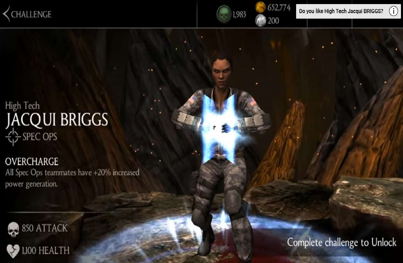 Mortal Kombat Mobile Updates To Version 2.5.0 And Gives Jacqui Briggs A Weekly Character Tower