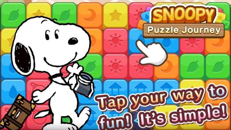 Capcom Announces Snoopy Puzzle Journey For Mobile Devices Next Month