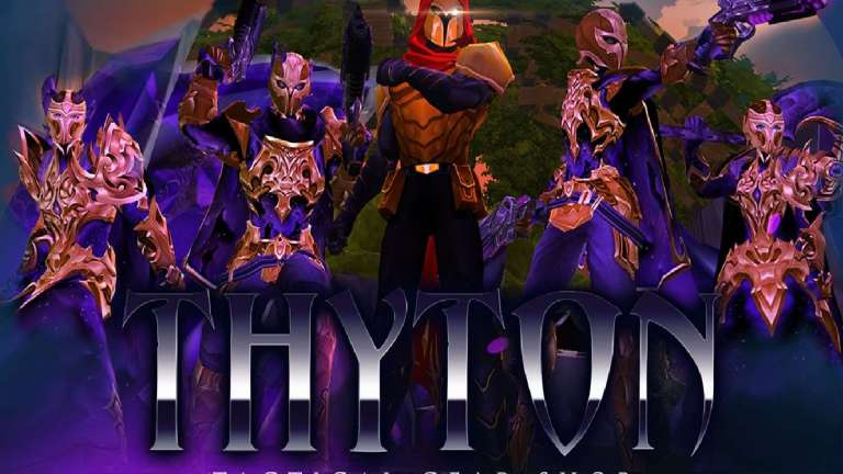 AdventureQuest 3D Brings In The Thyton Tactical Shop And Adds Equipment Inspired By The Void