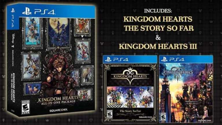 Kingdom Hearts All In One Package Features The Entire Series And Releases For The PS4 In March