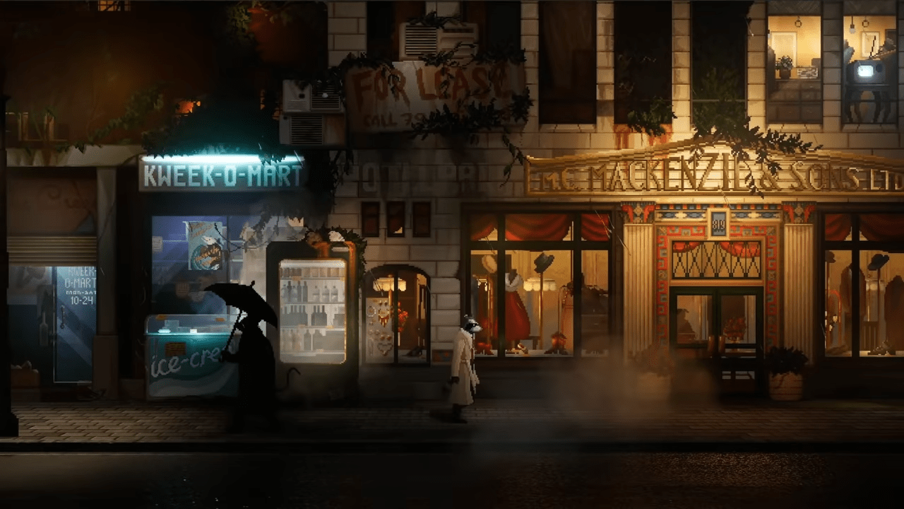 What Is Backbone? The Dystopian Noir Adventure Game – Where You Play As A Raccoon Detective – Gets A 2021 Reveal Trailer