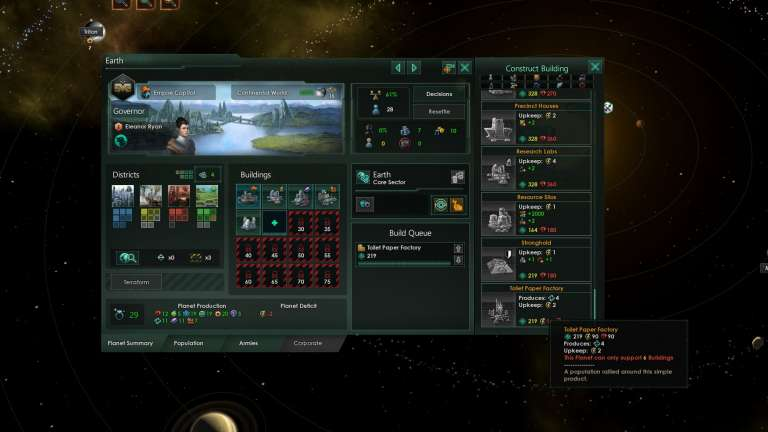 A New Stellaris Mod Is Poking Fun At Recent Reactions To The COVID19 Outbreak