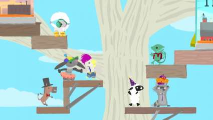 Clever Endeavour Games' Ultimate Chicken Horse Update Confirms Cross-Platform Play