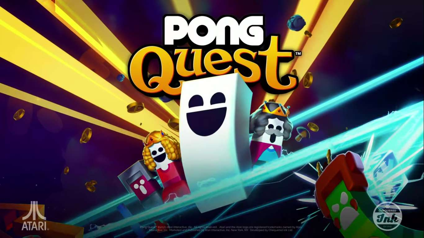 Pong Quest Is An RPG Version Of The Classic Paddle Game, Numbers And Story Have Been Added