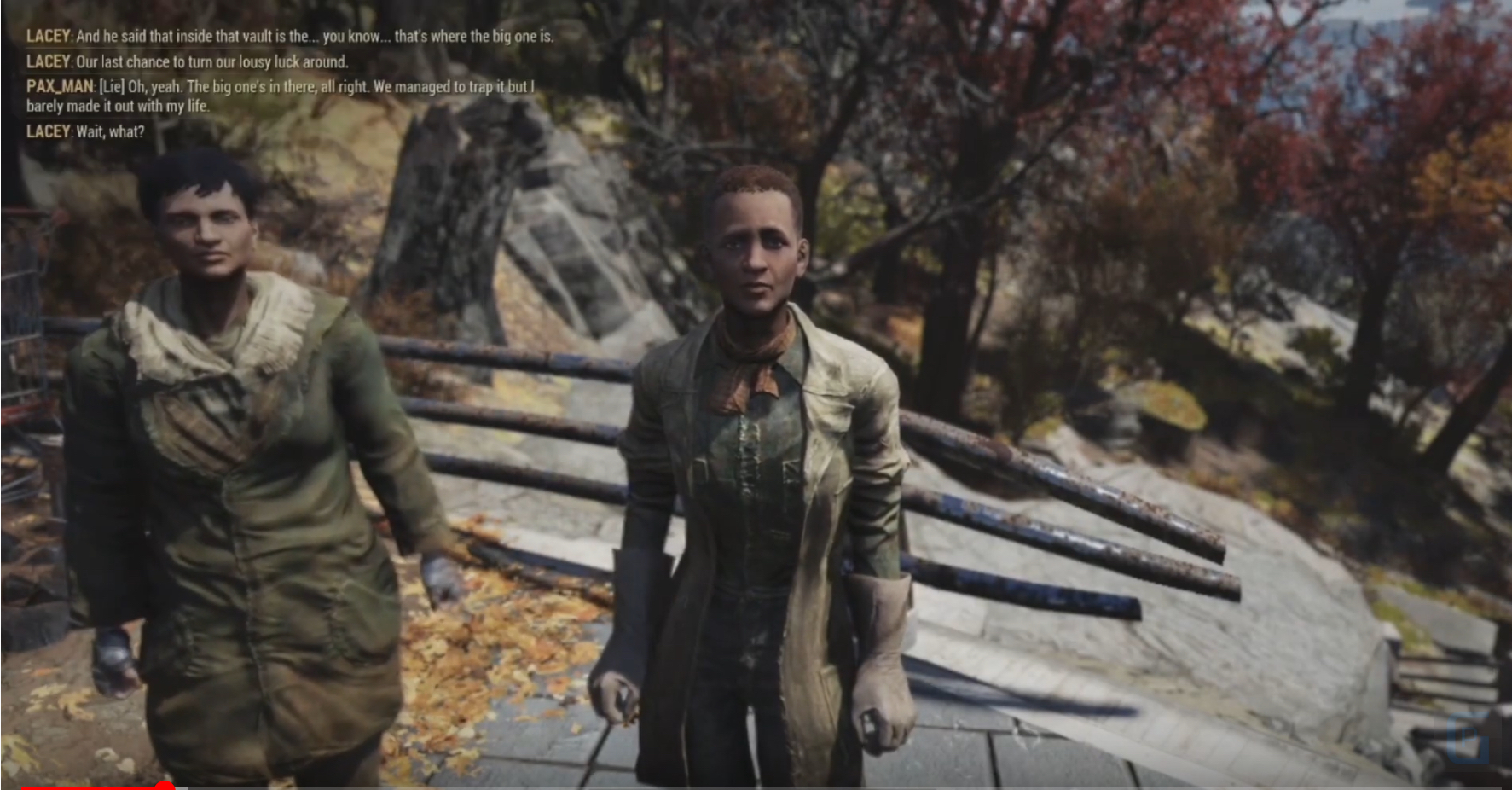 Gameplay Of Fallout 76's Wastelanders Update Was Just Shown At PAX East By Bethesda