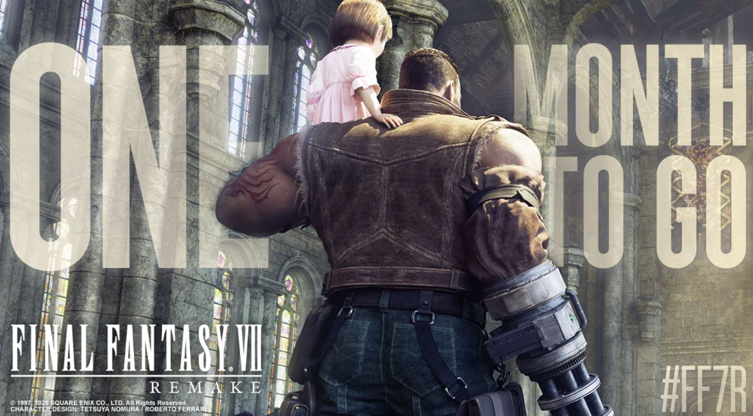 Final Fantasy 7 Remake Promo Art Gives Us One Of Our First Looks At Barret's Daughter Marlene