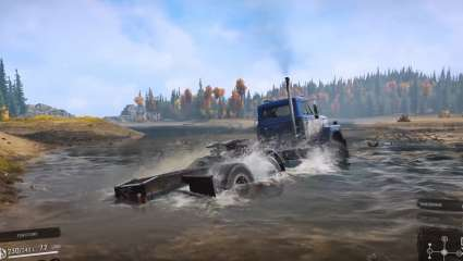 The Trucking Simulator SnowRunner Will Have Mod Support At Launch