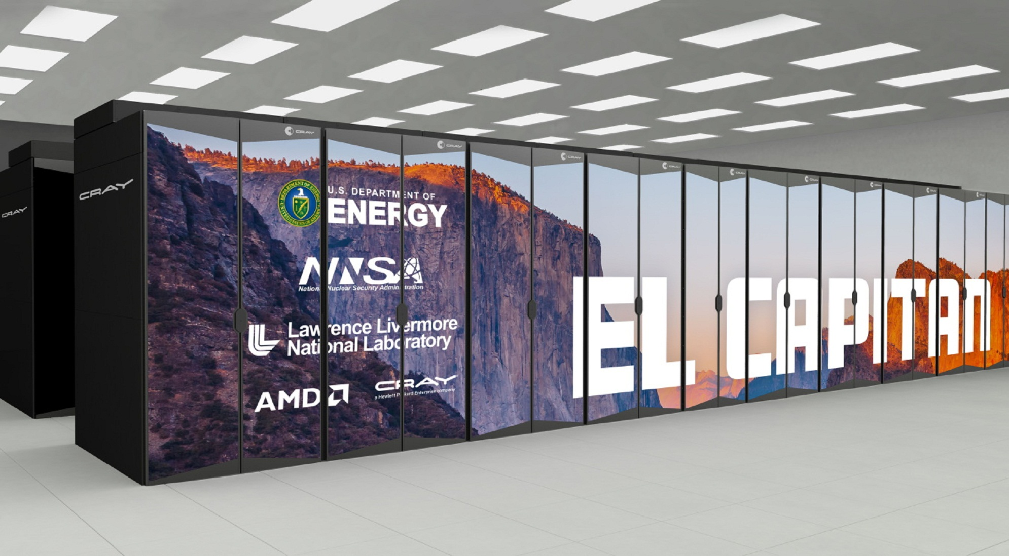 AMD EPYC CPU Partners With Radeon Instinct GPU In Conjunction With LLNL To Build the Fastest of Supercomputers; El Capitan