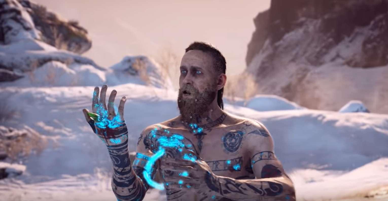 Twitter User Hacks The Camera In PlayStation 4's God Of War To Find Baldur Flipping Kratos The Middle Finger