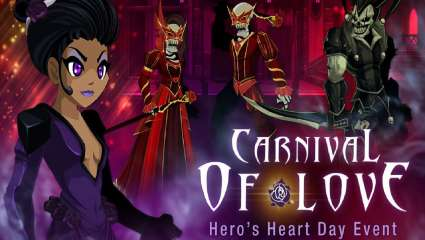 AdventureQuest Worlds Brings In Carnaval Of Love As An Event Related To Carnaval To Give Players A Reason To Party