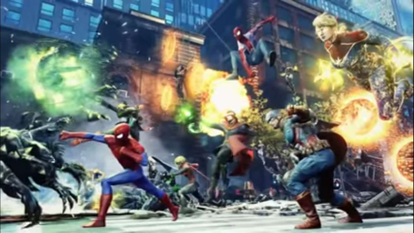 Marvel Future Revolution Has Been Announced, A New AAA Mobile Multiplayer Marvel RPG Set In An Open World