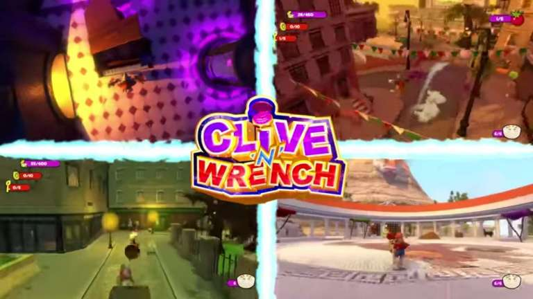 Clive 'N' Wrench Is An Upcoming 3D Platformer Headed To PC And The Nintendo Switch This Winter, Inspired By Several Original Platforming Legends