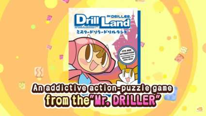 Mr. Driller DrillLand Is On Its Way To A Worldwide Release On The Nintendo Switch, Japan Exclusive Is Now Reaching A Worldwide Audience