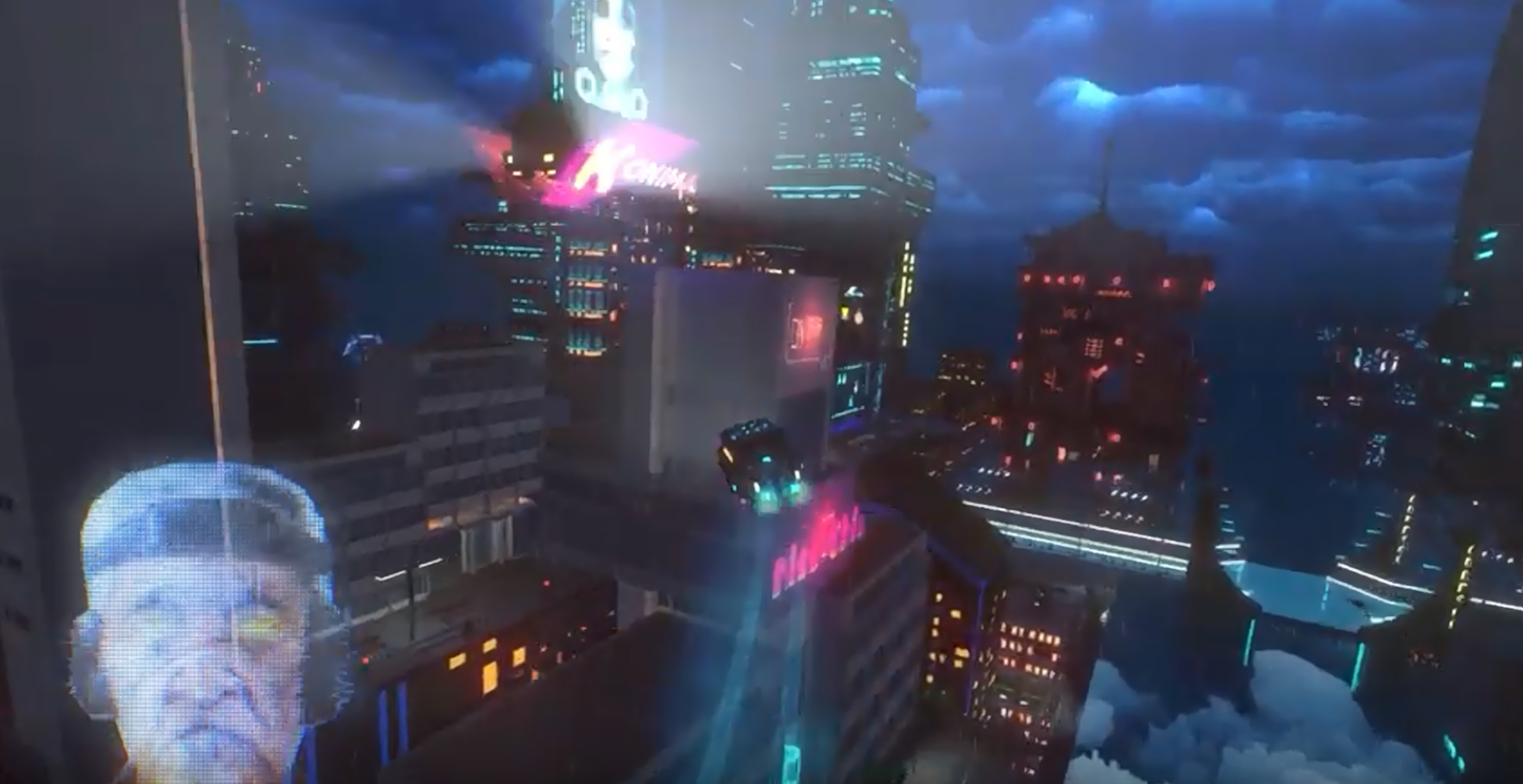 The Cyberpunk Delivery Game Cloudpunk Releases In October For Consoles