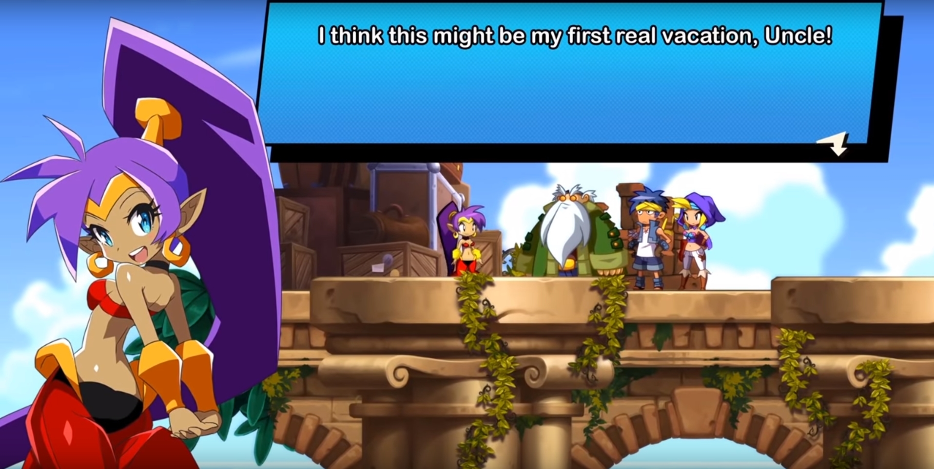 Shantae And The Seven Sirens Co-Creator Matt Bozon Discusses Shantae In Recent Interview With Goomba Stomp