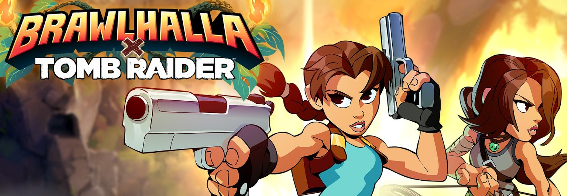 Tomb Raider Epic Crossover Event Adds Lara Croft To Brawlhalla