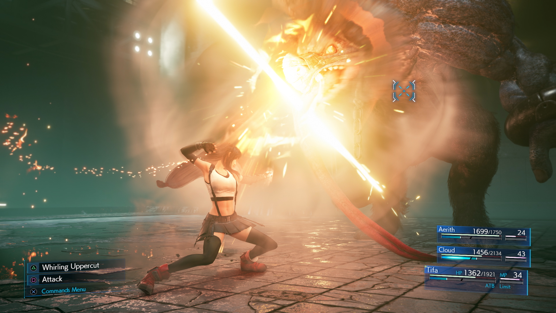 Get A Glimpse Of A Few Of Tifa's Amazing Fighting Moves In Final Fantasy VII Remake