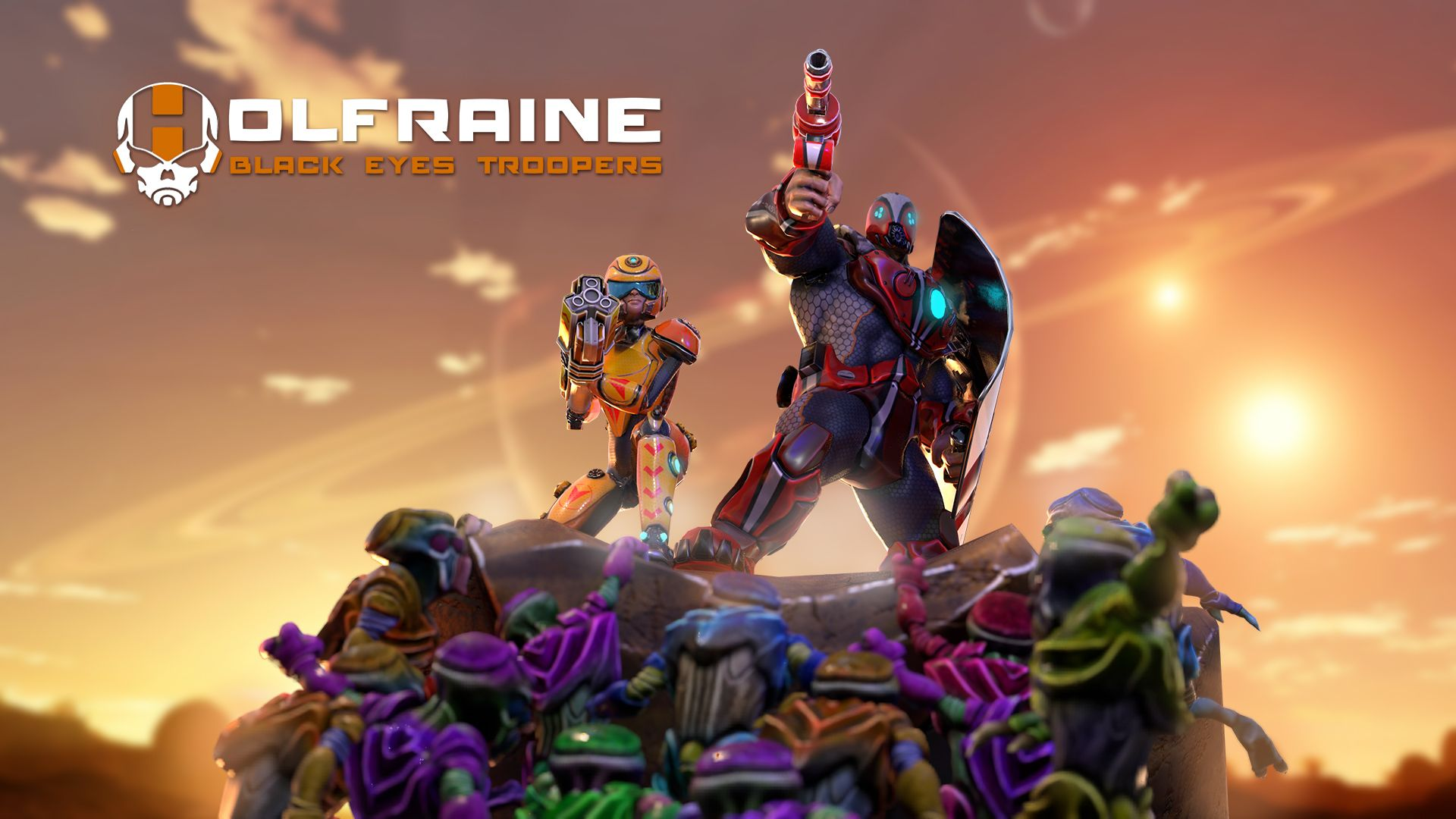 Holfraine Brings A Indie Hero Shooter Experience To PlayStation 4 Fans, Powerful Mercenaries Face Off In Frenetic PVP Battles