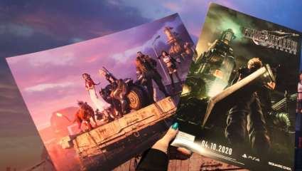 Final Fantasy VII Gives Out Two Posters At Its Booth At PAX East All Weekend, Game's Voice Cast Was Also On Hand