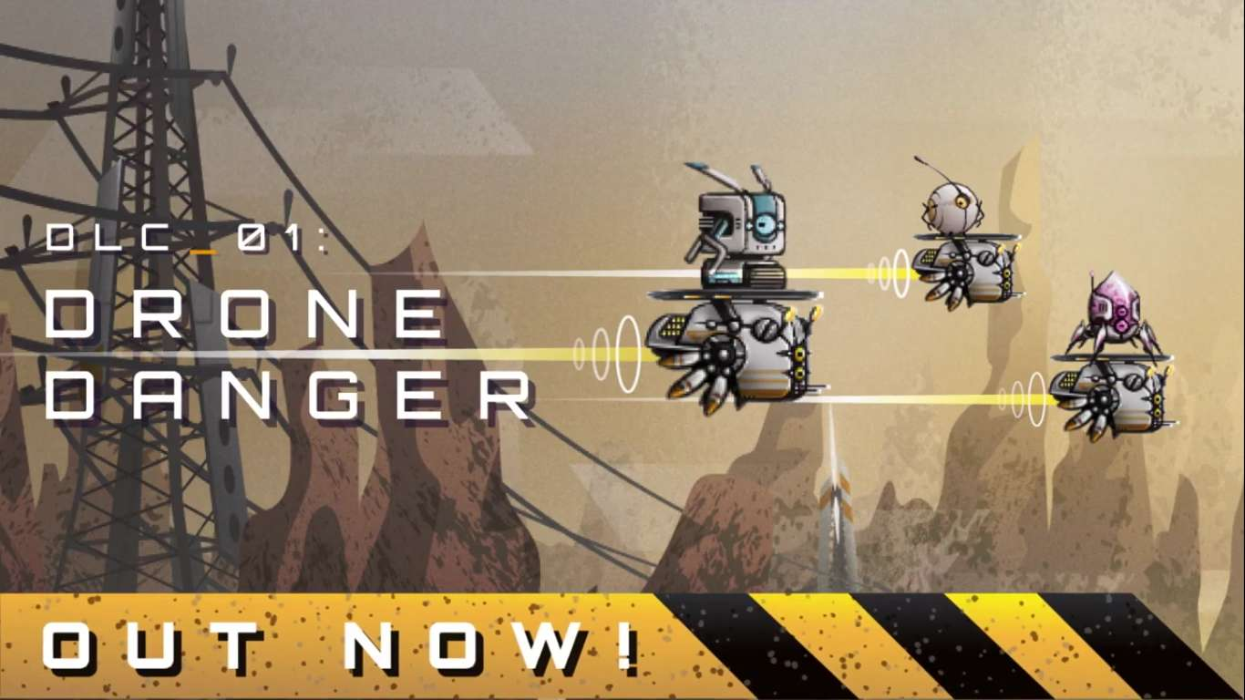 "Terraforming Earth Has Just Released A New DLC Titled ""Drone Danger"" On Steam, New Content For This Strange Indie Game"