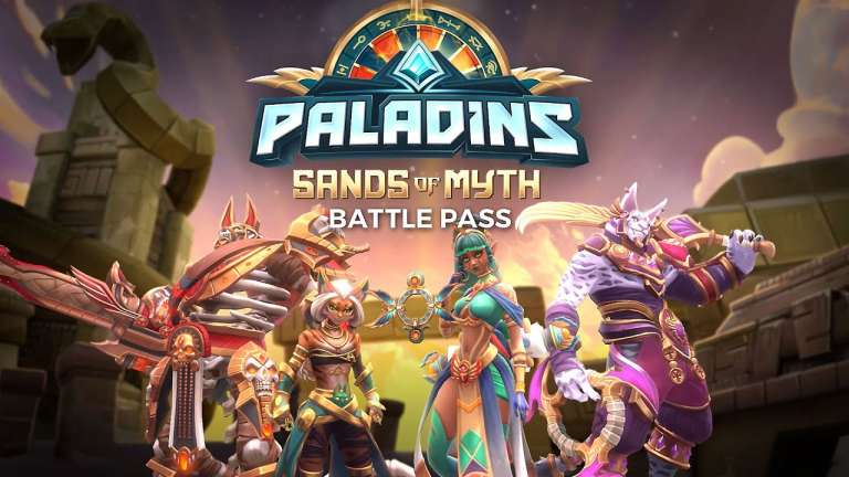 Paladins Has Released Their New Egyptian-Themed Sands Of Myth Battle Pass On All Platforms
