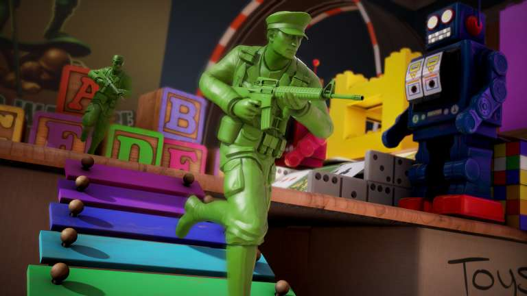 The Mean Greens - Plastic Warfare Drops A Big Update On Steam As It Gets Closer To Console Release