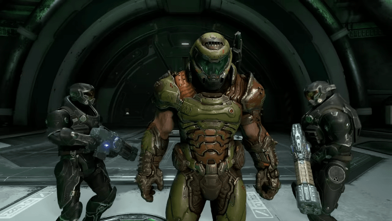 Doom Eternal Received A Third-Person Perspective Thanks To The Cheat Engine Community