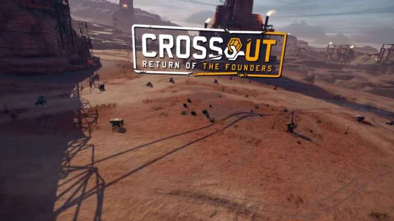 The Steel Championship Content Update Has Come To Crossout Adding In New Post Apocalyptic Content And A New PvP Map
