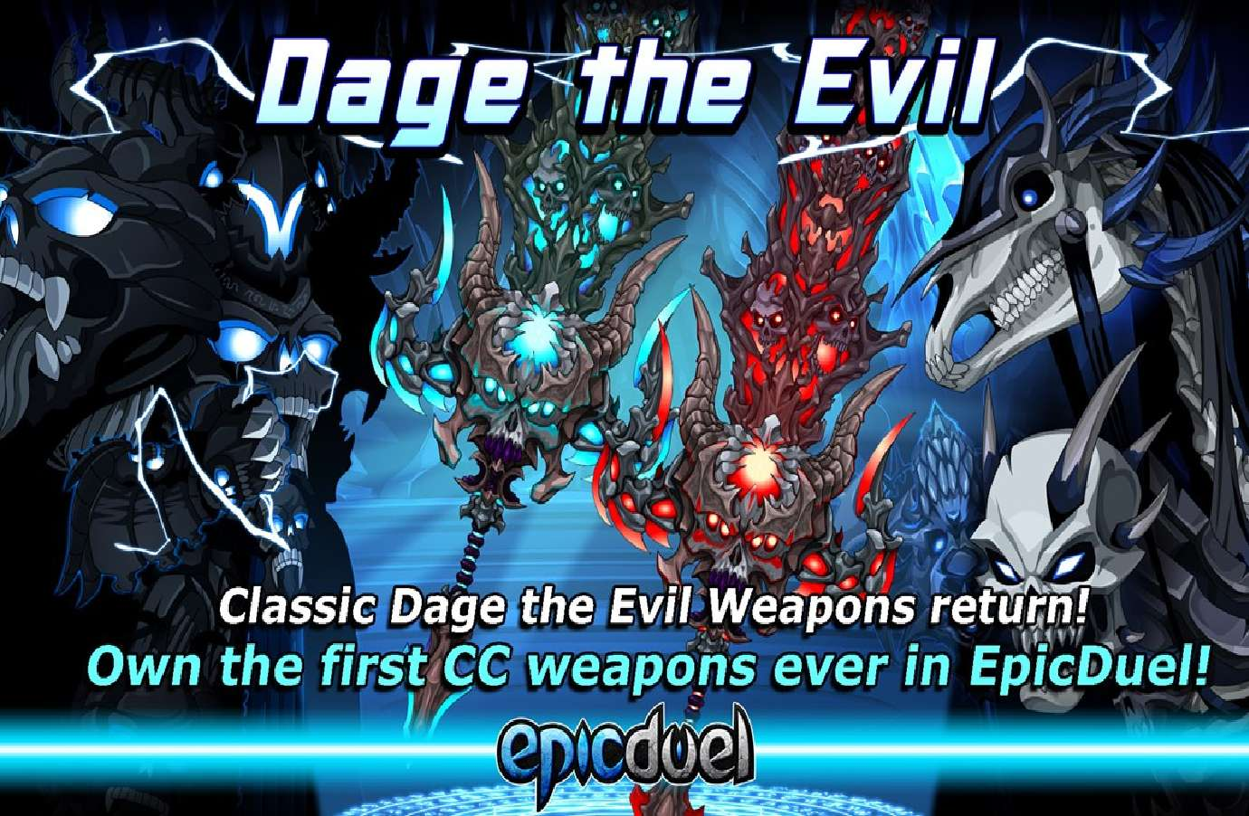 Epic Duel Welcomes The Return Of Dage's Collection Which Now Includes Color Customizable Equipment