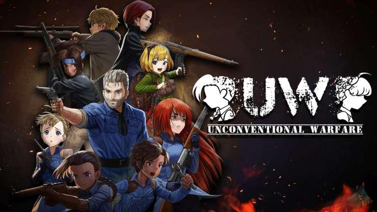 Unconventional Warfare: An Anime Tactics War Game Launches Kickstarter Campaign