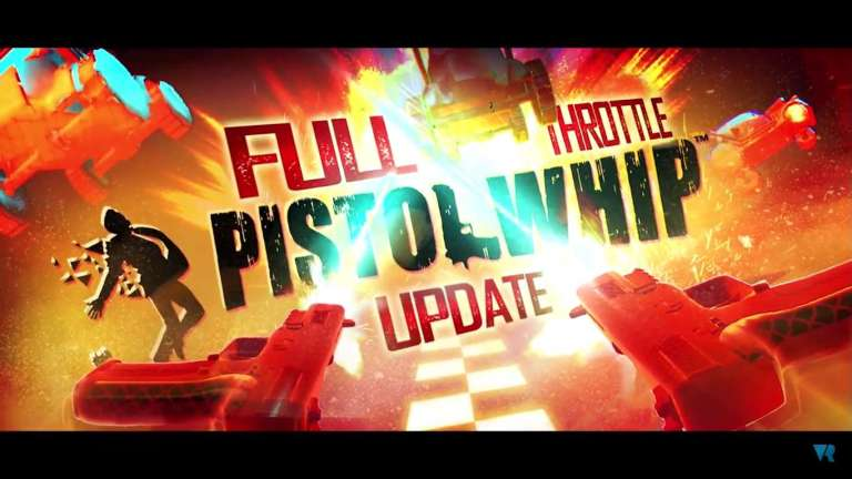 Pistol Whip's Next Update Is The Blood Pumping Expansion Titled Full Throttle Which Brings Vehichles Into The Chaotic Rhythm Shooter