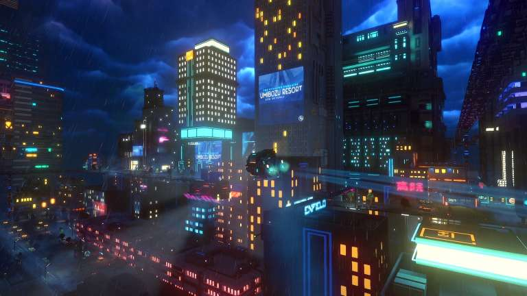 Ion Lands Announces Launch Date For CloudPunk On PC And Consoles