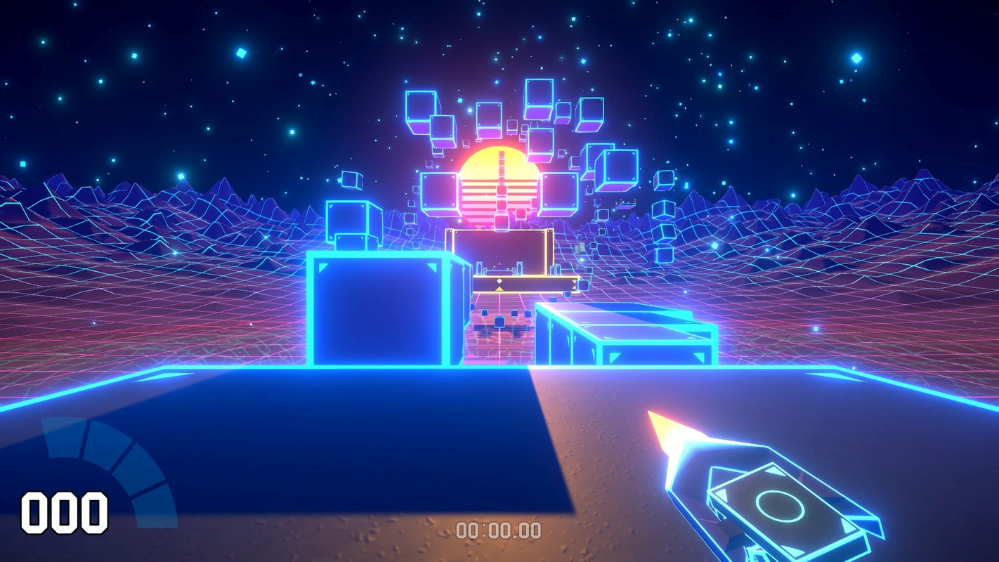 Retrowave Platformer Cyber Hook Announced For PC And Nintendo Switch