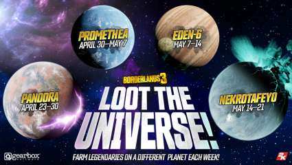 Borderlands 3 Begins Its Loot The Universe Event Encouraging Players To Play Specific Planets For Legendaries
