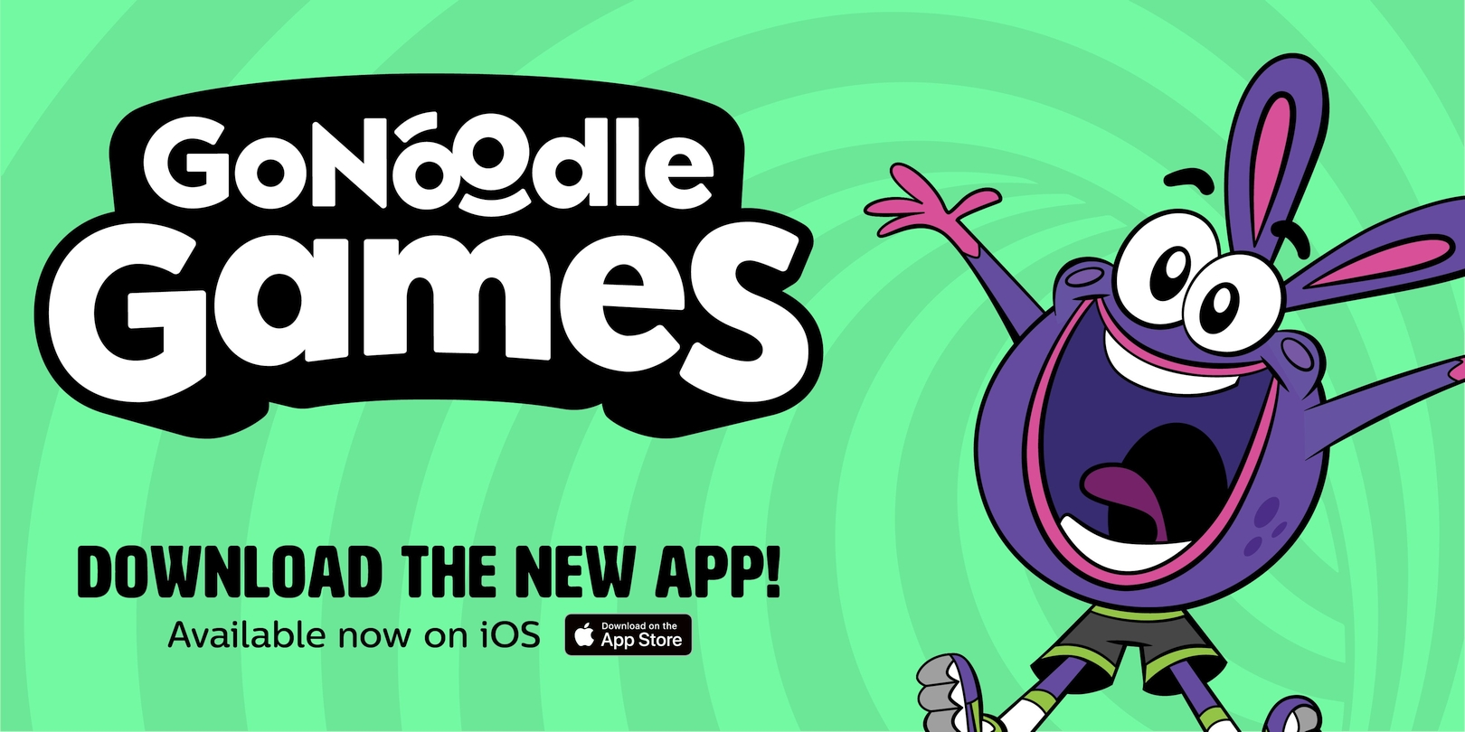 GoNoodle Games Is A New Safe App Option For Kids Available Now On The App Store
