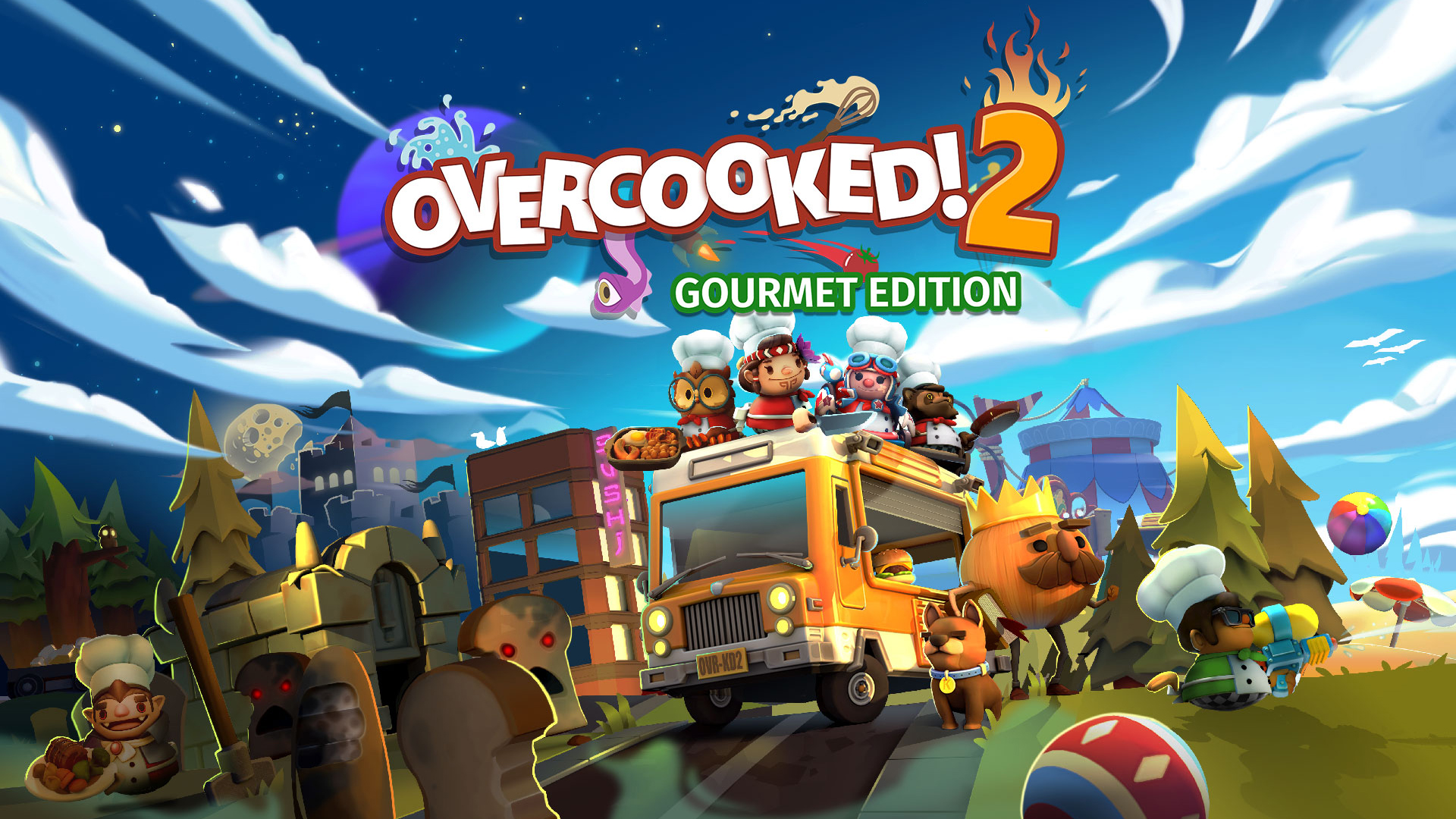 Team17 Releases Overcooked 2 Gourmet Edition Pack That Includes Base Game Plus DLC